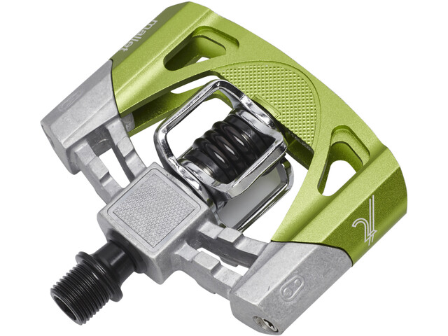 Crankbrothers Mallet 2 Pédales, raw green